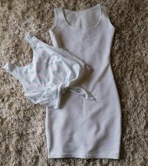 Haljinica i crop top majica(moguć dogovor)