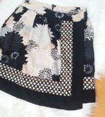H&M cvetna suknja vel. XS
