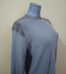 trikotazna haljina vel L KAO NOVA