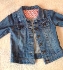 Mothercare teksas jakna za devojcicu  / 92
