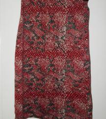 uska suknja sa visokim strukom