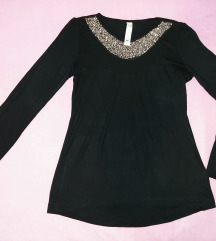 Tiffany elegantna crna bluza