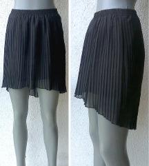 crna mini plisirana suknja br S CALLIOPE