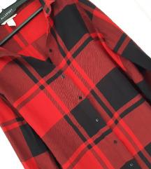 HM crvena karo košulja,kao nova