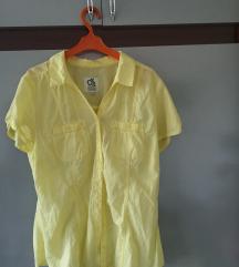 C&A žuta tanka košulja, NOVO REZZ