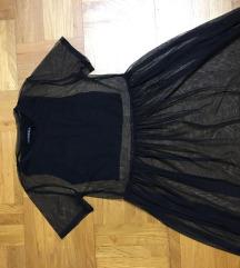 BERSHKA-crna haljina za letnje prilike