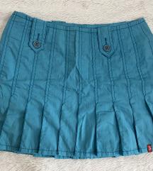 Esprit original plava suknja 36
