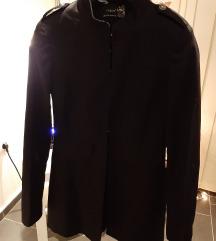 Duzi crni sako/mantil