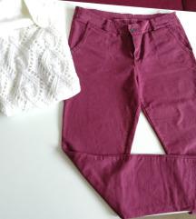 Bordo pantalone L