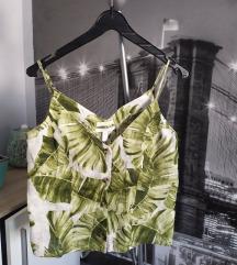 H&M Linen palmini listovi. Novo!