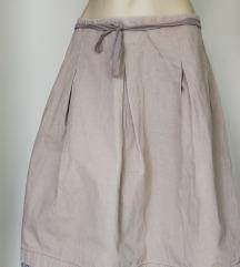 Miu Miu lanena suknja