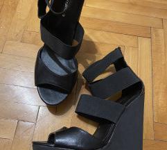 SNIZENE Sandale na platformu