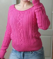 H&M pink džemper