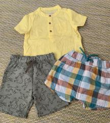 Košuljica i dva šortsa za bebu