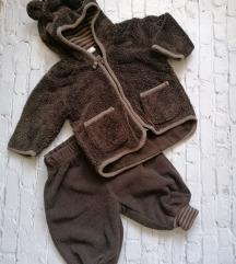 H&M jaknica i pantalone veličina 2-4 meseca