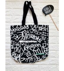 SADA 599 - H&M conscious tote torba, NOVO iz Swiss