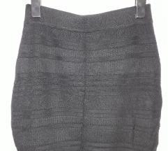 Amisu crna suknja