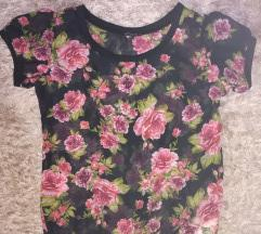 Terranova cvetna providna majica novo