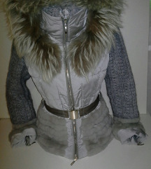 FLO CLO %%pravo krzno,zimska jakna
