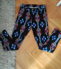 Boho uske pantalone