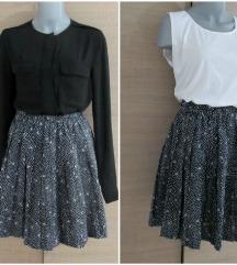 KAO NOVA duboka plisirana kvalitetna suknja S/XS