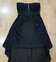 Crna korset haljina