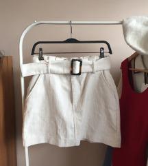 Zara zimska mini suknja sa kaišem (popust!)