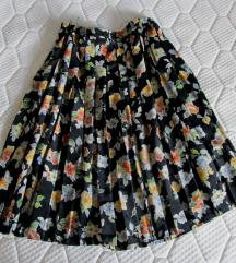 SEDA plisirana kvalitetna suknja KAO NOVA XXL