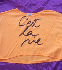 Neon narandžasta bluza, vel. M/L