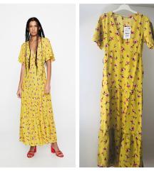 Pull&bear floral print haljina✨NOVO