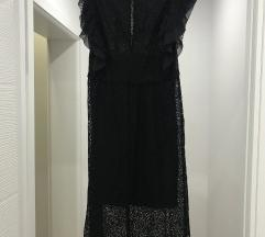 Zara duga cipkana haljina
