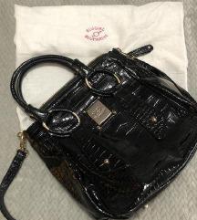 Blumarine Blugirl crna lakovana torba SNIŽENA