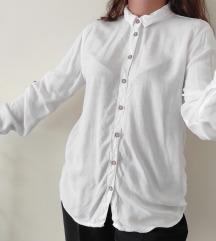 HOUSE ležerna bela košulja od viskoze NOVO