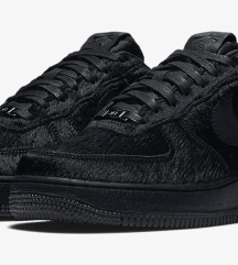 NIKE AIR FORCE- limited edition pony hair