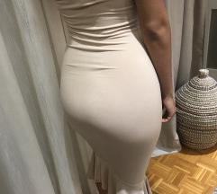 Sampanjac haljina!Novo!!