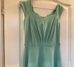Tirkiz 60s haljina
