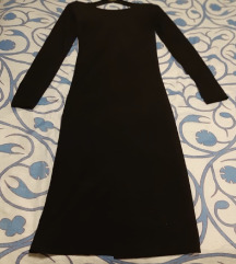 crna pamucna haljina
