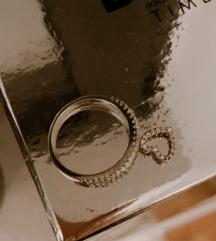 Prsten srebro nov