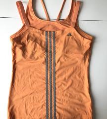 Adidas Clima Cool narandzasta sportska majica+top