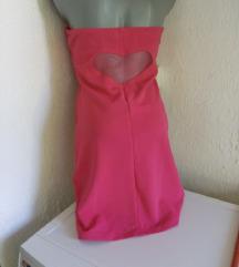 FB sister pink srce haljina M