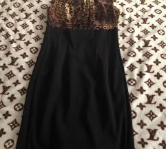 Nova tigrasto-crna haljina