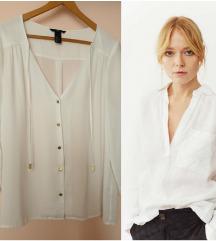 H&M bela košulja