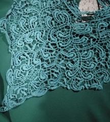 Zelena bluza, tunika, kao nova