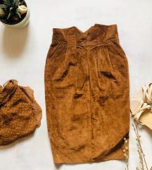 Vintage duboka suknja