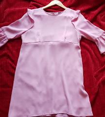Zara letnja bebi roze haljina
