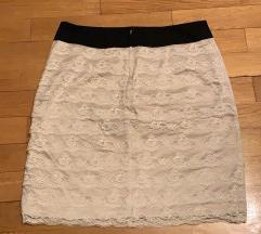 H&M suknja-nova! Puder roze