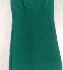 Zelena haljina DiLine