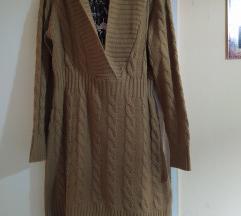 Kamel dzemper haljina