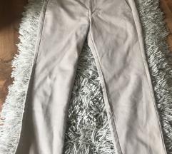 ZARA - bez/svetle pantalone