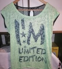 Zeleno-plava majica